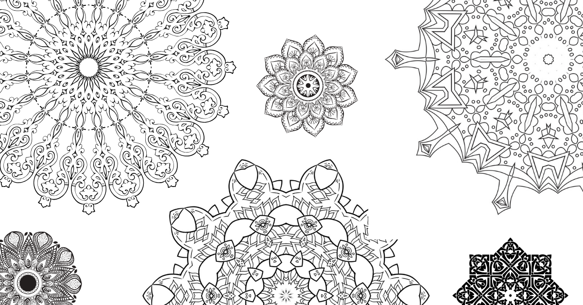 Resources: Free Colouring In Mandalas