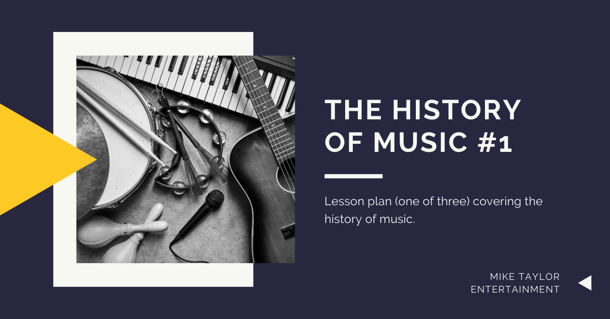 Lesson Plan 1: What is music?